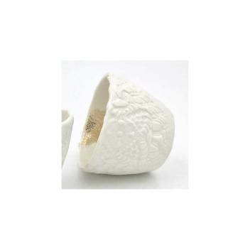 Bougie au clair de lune senteur citron et tasse blanche Myriam Aït Amar