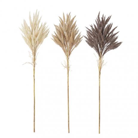 Fleurs artificielles plusieurs coloris Vendues en Lot de 3