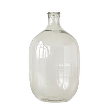 Vase ou dame-Jeanne en verre transparent Modèle XL 48 cm