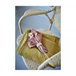 Nappe en coton Elsa coloris Terracotta Antique 220 x 140 cm