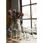 Vase fait main en verre transparent petit Modèle