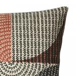 Housse de Coussin Rectangle en Coton Gris clair 50 x 30 cm