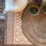 Set de Table Beija Flor PJ4 effet Tissage modèle Jaipur
