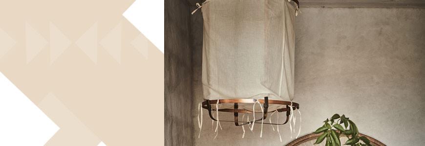 luminaire boh me suspensions en osier lampe poser mybohem my bohem. Black Bedroom Furniture Sets. Home Design Ideas