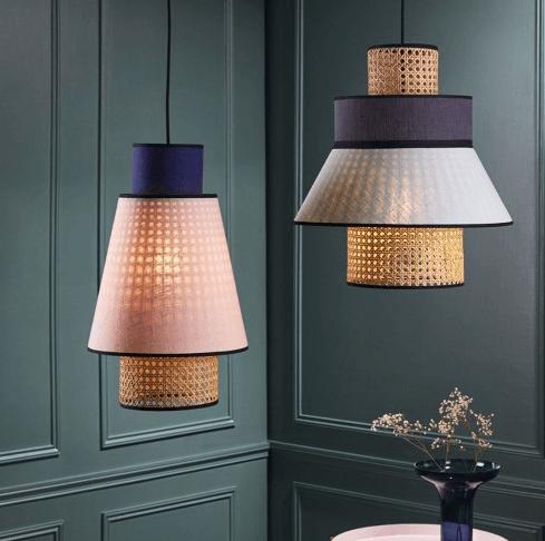 market set luminaires design et cannage mybohem. Black Bedroom Furniture Sets. Home Design Ideas