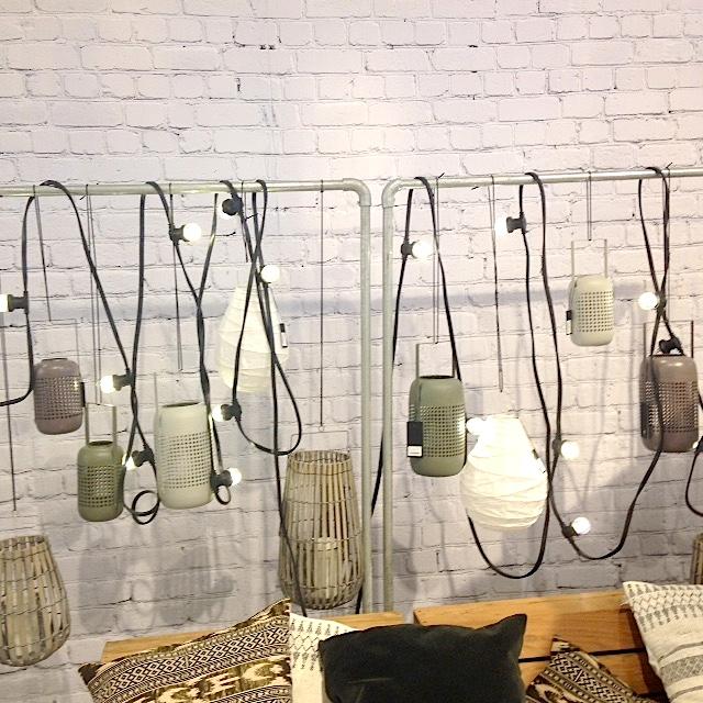Guirlande lumineuse lanternes